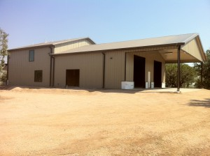 Lightning Protection for Metal Buildings